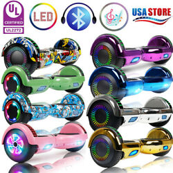 Bluetooth Hoverboard Self Balance Scooter Electric Scooters No Bag Best Gift
