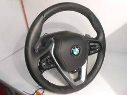 Bmw X5 -xdrive Steering Wheel 2 Column Assembly Microphonecruise Control Te0288