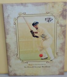 2008 Centenary Of Don Bradman's Birthday 5 Coin And Stamp Pack