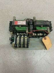 Used General Electric Size 0 Reversing Starter With 115v. Coils Cr209b0