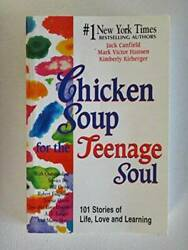 Chicken Soup for the Teenage Soul Hardcover By Canfield Jack GOOD