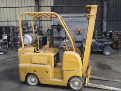 Allis Chalmers Forklift - Propane Used Unknown Year And Hours Runs