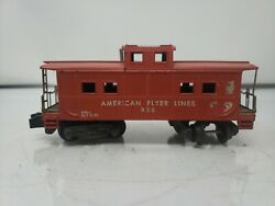 American Flyer Caboose 938 With Knucle Couple. J09