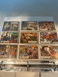 1962 Topps Civil War News - Complete Card And Csa Currency Set + Bonus