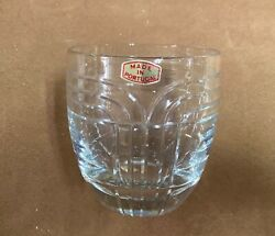 Clear Double Old Fashion Glass $10.95
