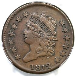 1812 S-291 R-2 Pcgs Xf Details Classic Head Large Cent Coin 1c
