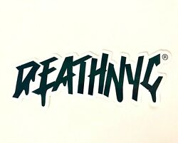Death Nyc Sticker 1pc Limited Edition 5 Inches F3