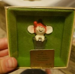 1978 Hallmark Little Trimmers Thimble Mouse 1st in Thimble Series NIB NEW IN  BO