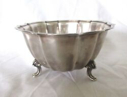 Vintage Chippendale International Silver Company Footed Candy Bowl