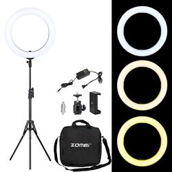 18and039and039 Led Smd Ring Light Kit With Stand Dimmable 5500k For Camera Makeup Phone Us