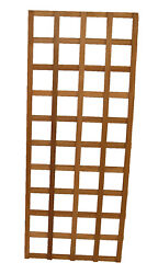 Teak Wood Trellis 24 X 60 Inches Tall, Made With Stainless Steel Hardware