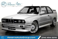 1990 BMW 3-Series M3 1990 BMW 3 Series Silver Metallic with 155407 Miles available now!