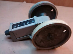 Veeder-root /danaher Worm Drive Totalizer Counter 743425-005 7434 Series 5 Digit