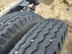 New 7.5-20 Tires On 1940s 1950s Chevy Gm Rims 47-53 Big Truck All 6 One Money