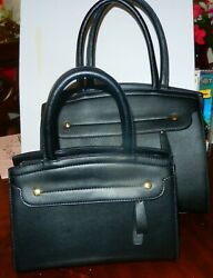 Matching Black Handbags small and medium Unbranded Free Shipping $35.00
