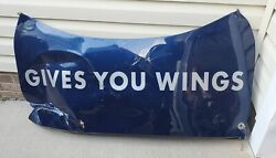Brian Vickers Signed 2008 Red Bull Racing Nascar Race Used Decklid Mancave Rare