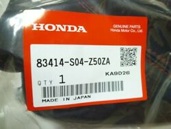 Genuine Honda 96-00 Civic EK Type R Red Stitch Shift Boot 83414-S04-Z50ZA FS