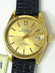 Tudor Oysterdate 909071 Steel And Gold Automatic 33.00mm. Watch Year 1977