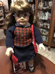 American Girl Doll Molly In Original Meet Outfit