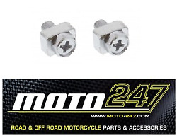 Jmt Motorcycle Battery Terminal Screw Set / Nut And Bolt Kit M5 X 12mm