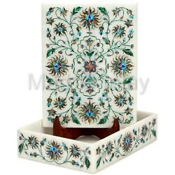 Abalone Shell Rectangular Jewelry Box For Table Decoration Wedding Anniversary