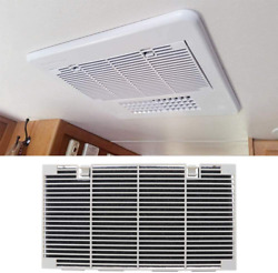 Rv Ducted Air Conditioner Grill Cover With Interior A/c Filters Pad Accessories