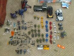 Halo Mega Blocks Huge Spartan Lot With Trucks Ships And Weapons