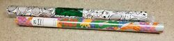New 2 Rolls Foster And Worlds Finest Children And Sports Theme Gift Wrap Paper