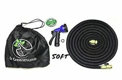 Dr.greenthumb Garden Hose 50ft - Brass Connectors Extra Strength Anti Tangle