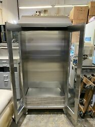 Stainless Steel Medical Cabinet W/ 5 Shelves