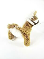 Fluffy Horse Marionette Orange And White 10 Puppet Kids Play Gift