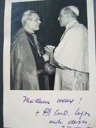 Collection Of 122 1950s Photographs Of Pope Pius Xii, Cardinal Paul-emile Leger