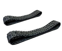 320 X 86 X 52 Set Of 2 Rubber Tracks For Takeuchi Tl130/230 Track Loaders