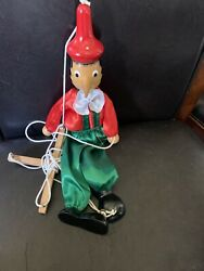 Pinocchio Wooden Marionette 16 String Puppet Style Wood Toy