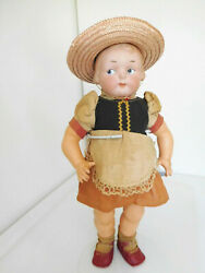 14 Antique Armand Marseille Am 210 Campbell Kid Googly Bisque Girl