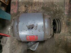 Clausing Colchester 13 Motor 2speed 1700/860rpm 3hp 220v3ph Brema Exc...