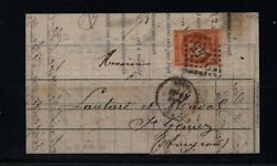 France Maury 48i Very Fine Used On Folded Letter Cover