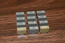 Collector Grade Icom Ic-765 Parts 0-9 Keypad / 160-10m Band Buttons