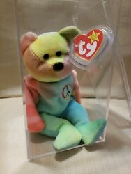 Extremely Rare 1996 Ty Beanie Baby Babies Peace Bear With All Errors Mistakesandnbsp