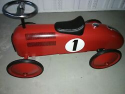 Schylling Speedster - Red Race Car New Rode Once