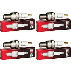 4 New Champion Industrial Spark Plugs Set For 1924 Stearns Knight Four