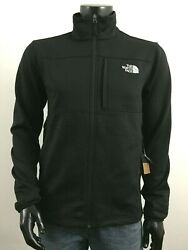 UPDATED Mens TNF The North Face Cinder 200 FZ quot;Tenaciousquot; Fleece Jacket Black $80.70