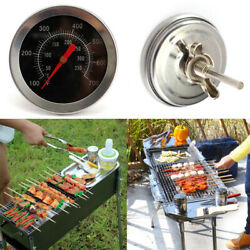 1pcbbq Pit Smoker Grill Thermometer Gge Temp Outdoor Hoo F8a7 Barb Cl C5z2