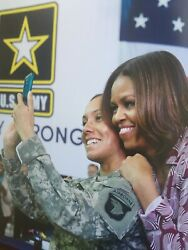 Signed-reach Higher-an Inspiring Photo Celebration Of First Lady Michelle Obama