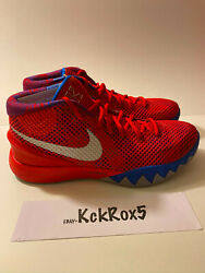 Nike Kyrie 1 4th Of July Promo Sample Red 491724-xc Rare Unreleased Pe 1 Of 1