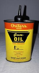 Outers 445 Gun Oil Oval Handy Oiler Oil Can Empty