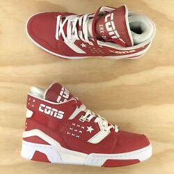 Converse Erx 260 Mid Top X Don C Gym Red White Leather Sneakers 163800c Size