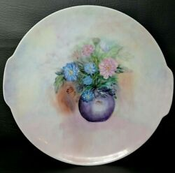 Tirschenreuth Hutschenreuther Gruppe Hand Painted 1979 Floral Plate Germany