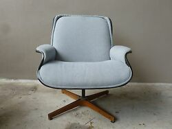 Rare Form 1960and039s Plycraft George Mulhauser Desk Chair
