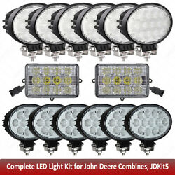 Led Light Kit For John Deere Combine 9670sts,9750sts, 9760sts, 9770sts,9860sts